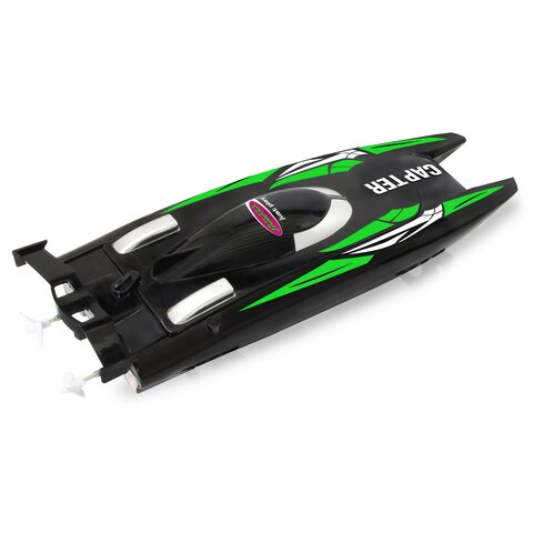 Capter Speedboot black/ green LiPo 7,4V 2,4GHz