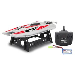 Capter Speedboot white/red LiPo 7,4V 2,4GHz