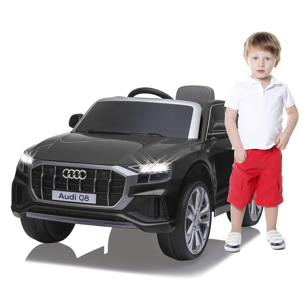 Jamara Ride-on Audi Q8 12V černý
