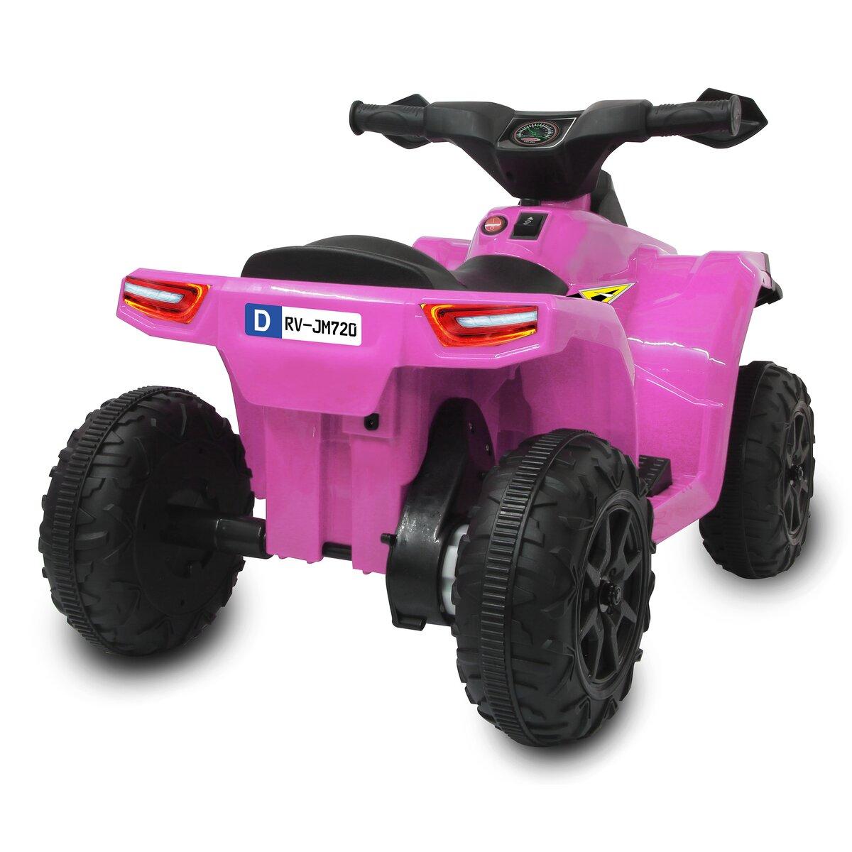Jamara Ride-on Mini Quad Runty 6V růžový