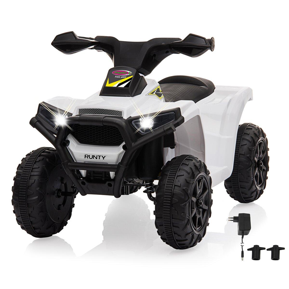 Jamara Ride-on Mini Quad Runty 6V bílý