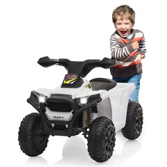 Ride-on Mini Quad Runty weiß 6V