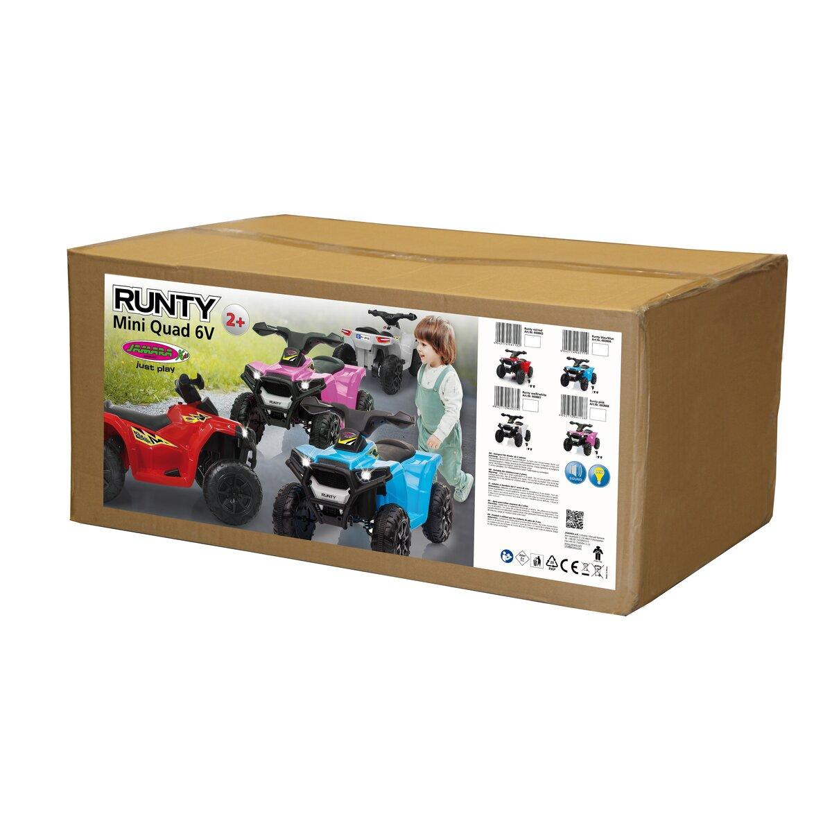 Jamara Ride-on Mini Quad Runty 6V modrý