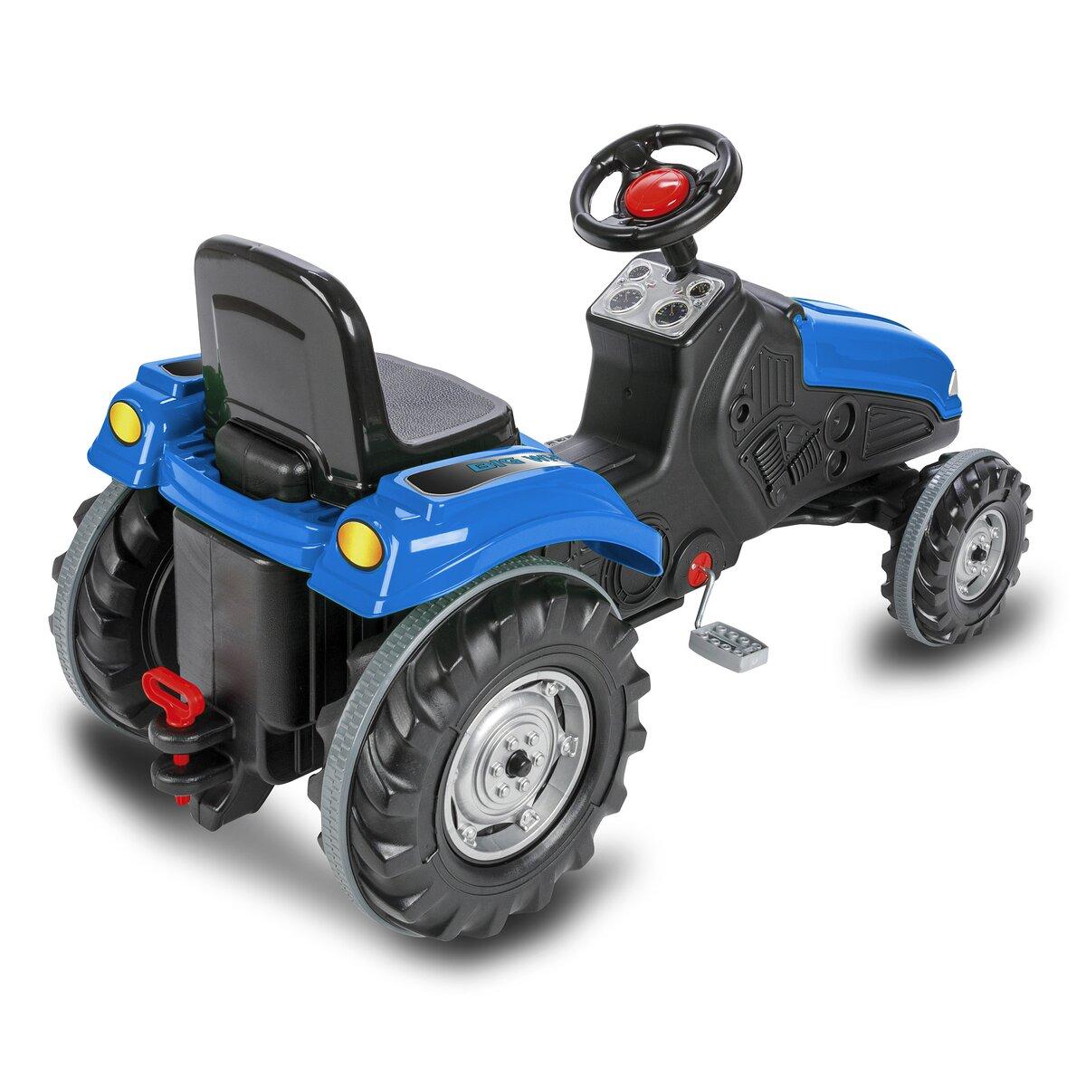 Jamara Šlapací traktor Big Wheel modrý