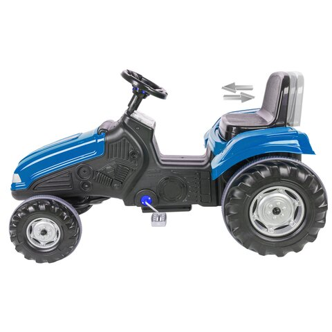 Pedal tractor Big Wheel blue