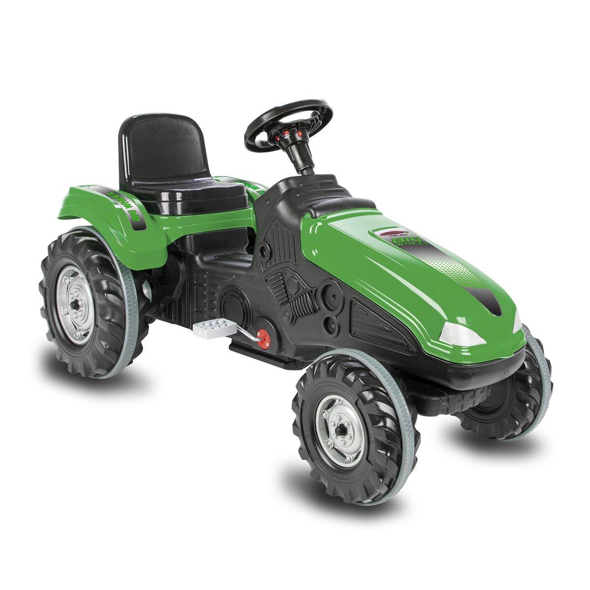 Jamara Šlapací traktor Big Wheel zelený