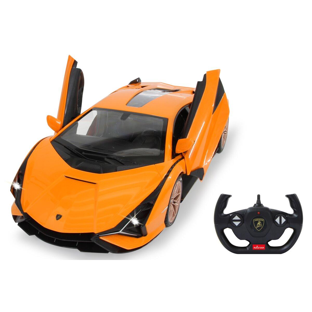 Jamara Lamborghini Sián 1:14 orange 2,4GHz manual doors