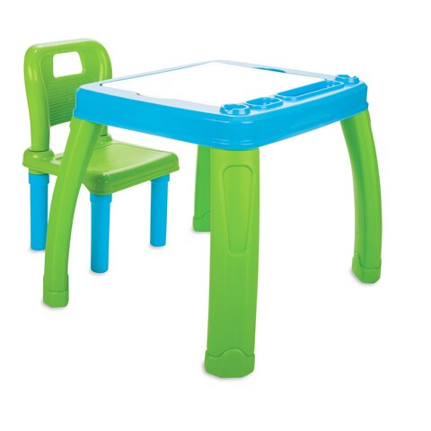Childrens Seat group Lets Study blue