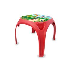 Childrens table Fun with Numbers XL red