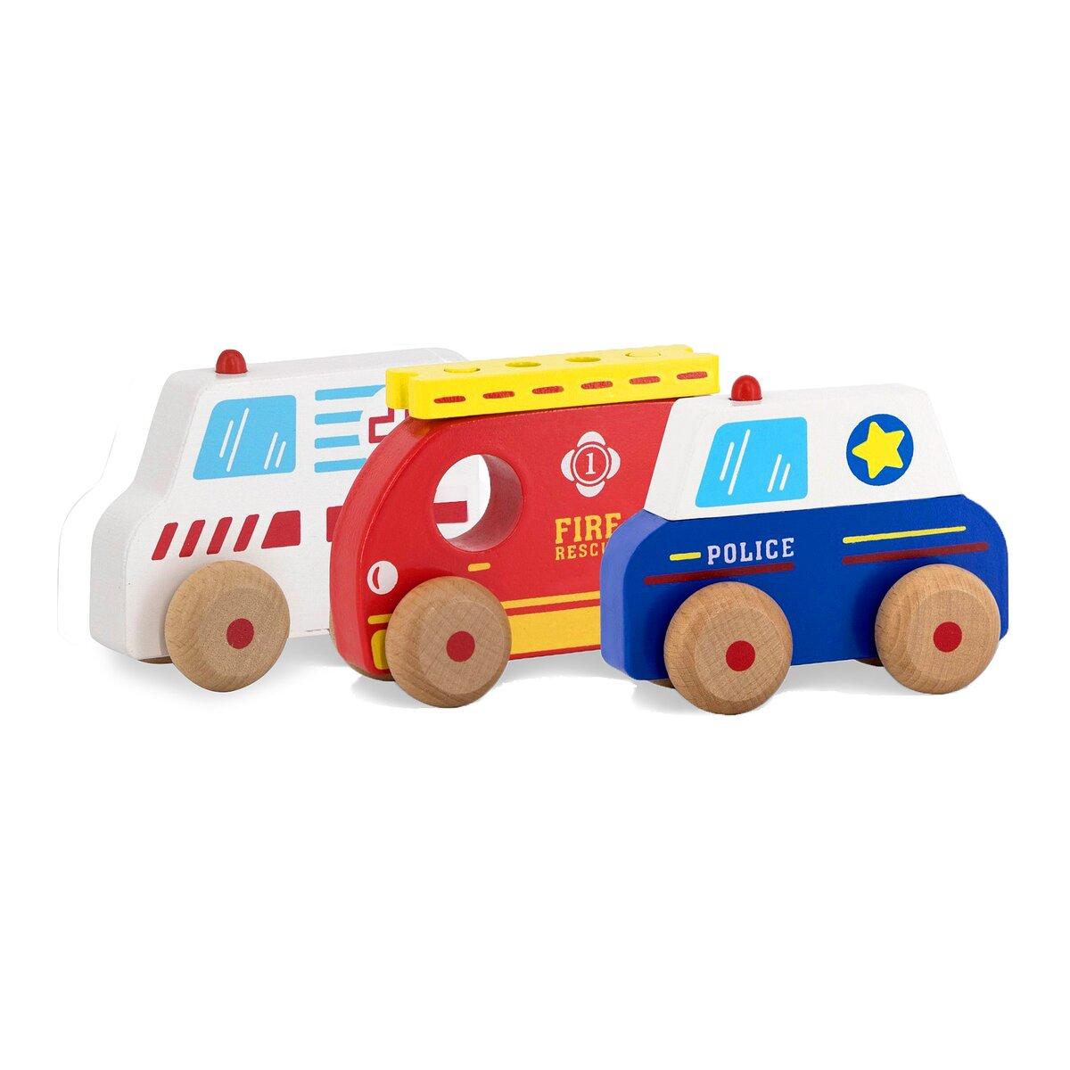 Jamara Dřevěná hračka - Kidiwood auta