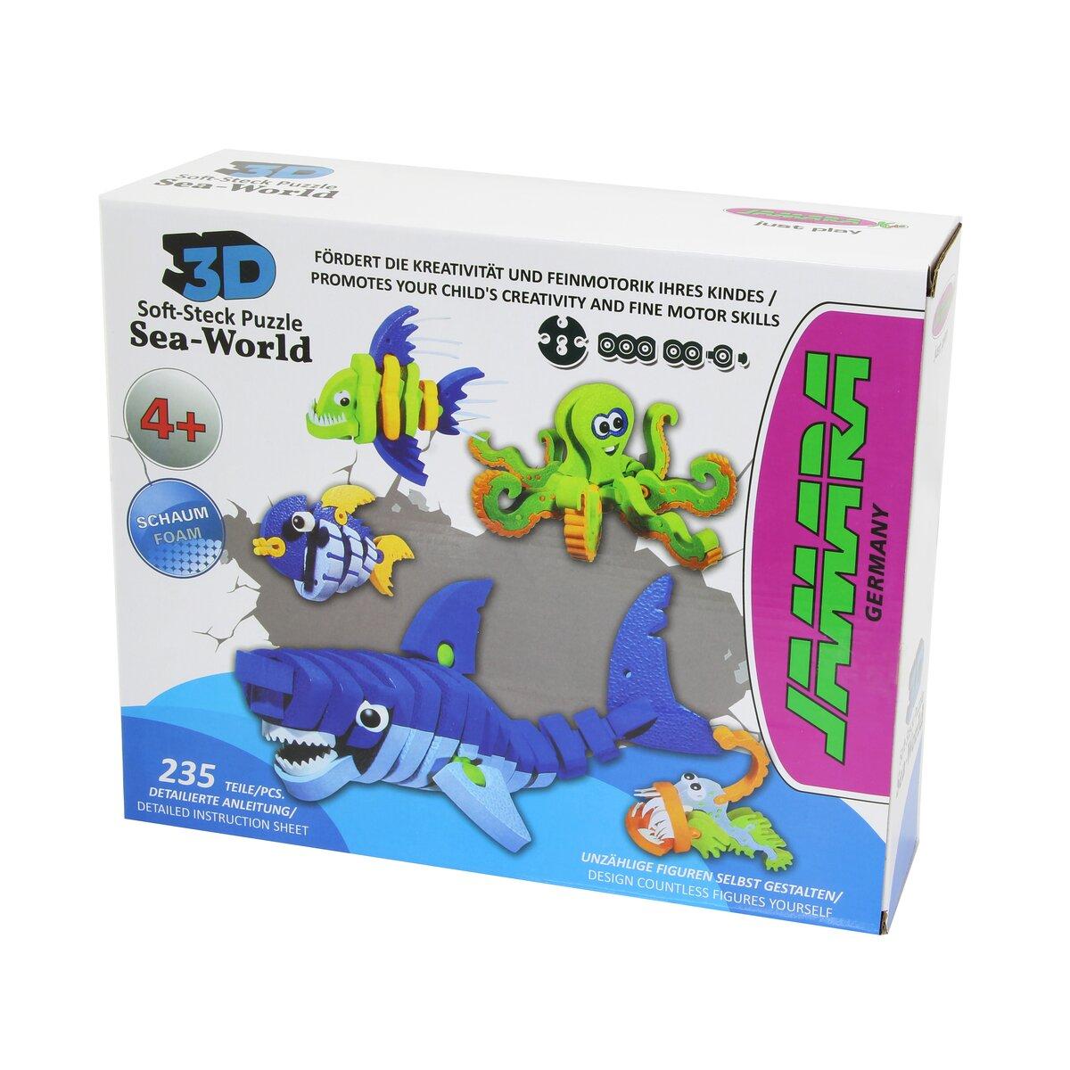 Jamara Puzzle vodní svět 3D Soft-Plug