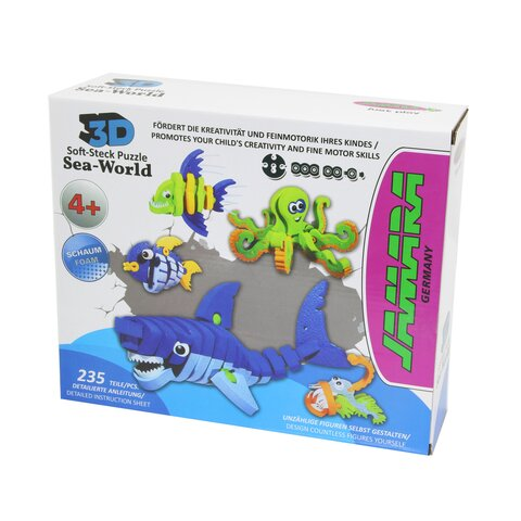 3D Soft-Steck Puzzle Sea World