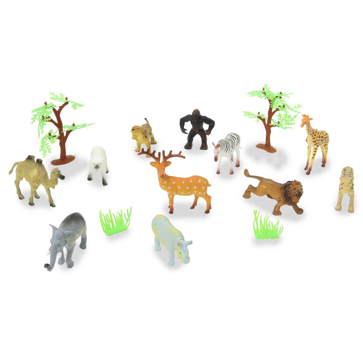 Jamara Set divokých zvířat 16 ks