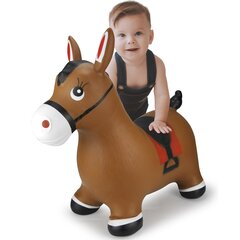 Bouncing animal horse brown with pump