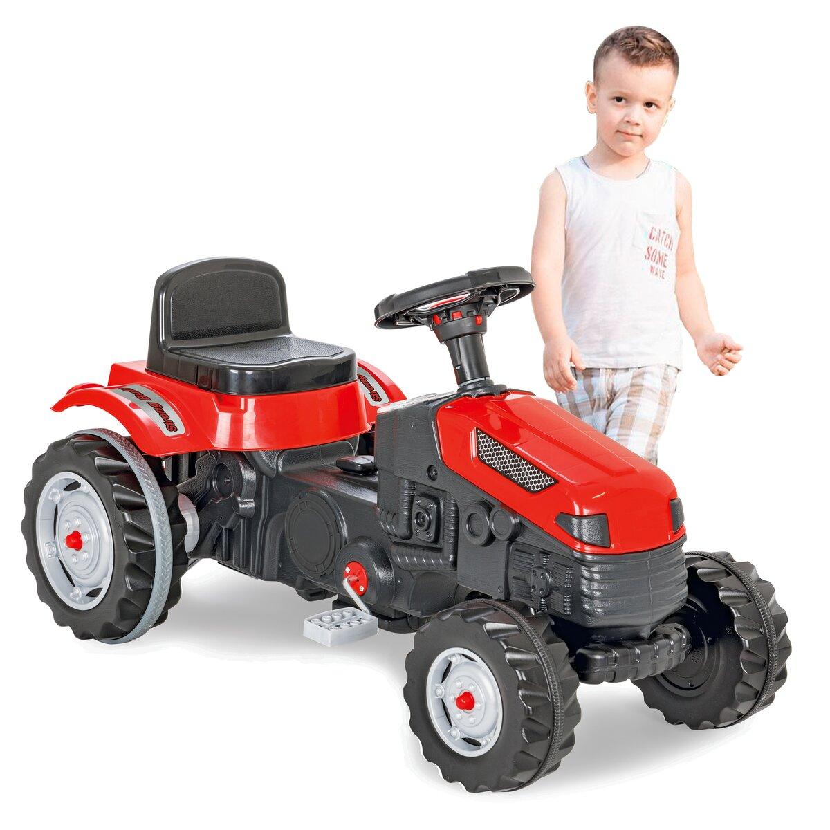 Jamara Šlapací traktor Strong Bull červený