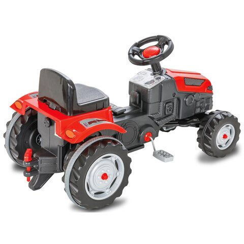 Pedal tractor Strong Bull red