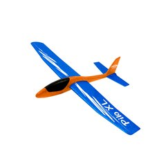 Pilo XL Foam Hand Launch glider EPP wing blue fuselage