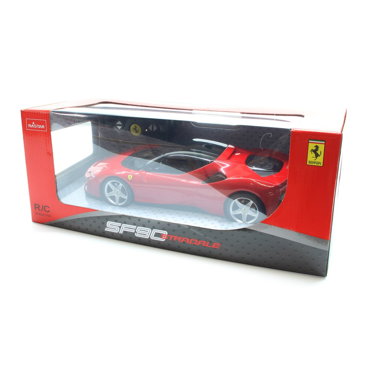 Jamara Ferrari SF90 Stradale 1:14 red 2,4GHz