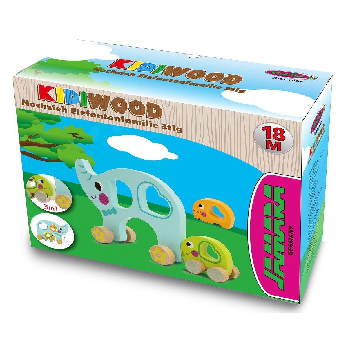 Jamara Dřevěná hračka - Kidiwood slon