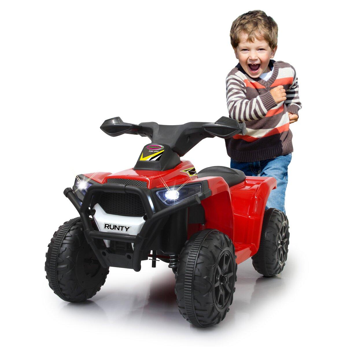 Jamara Ride-on Mini Quad Runty 6V červený