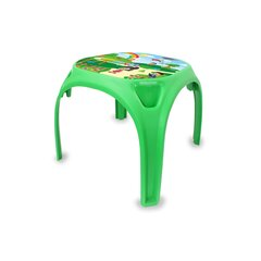 Childrens table Fun with Numbers XL green