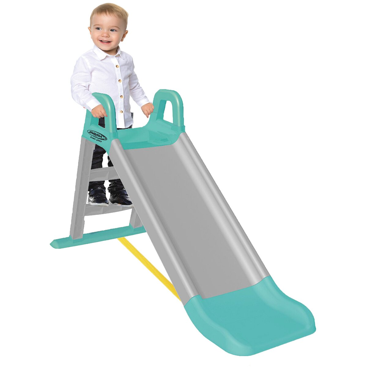 Rutsche Funny Slide grau