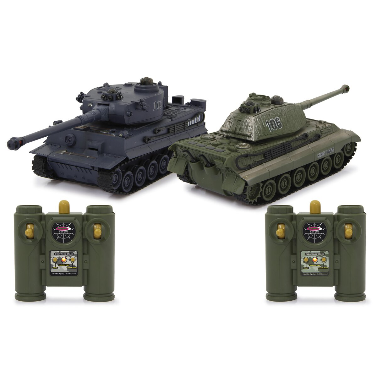 Jamara Panzer Tiger Battle Set 1:28 2,4GHz