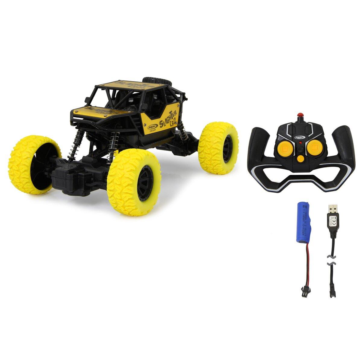 Jamara Slighter CR2 RC Crawler Diecast 2,4GHz žlutý