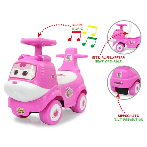 Rutscher Super Wings Dizzy pink