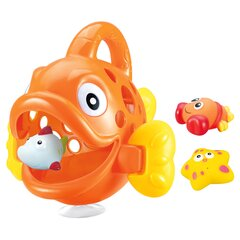 Bath toys collector Hungry Fish orange