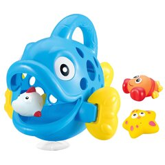 Bath toys collector Hungry Fish blue