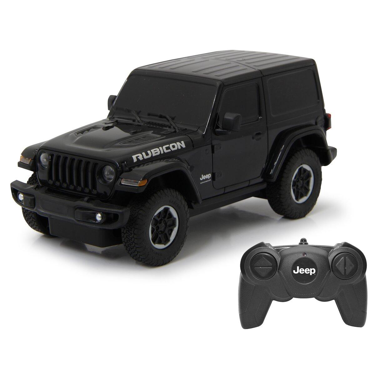 Jeep Wrangler JL 1:24 schwarz 27MHz