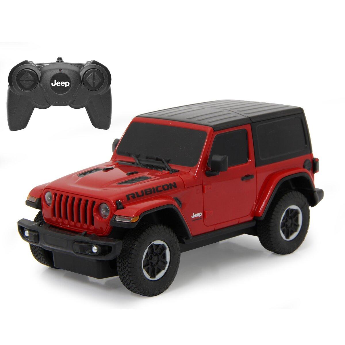 Jamara Jeep Wrangler JL 1:24 červený 40MHz