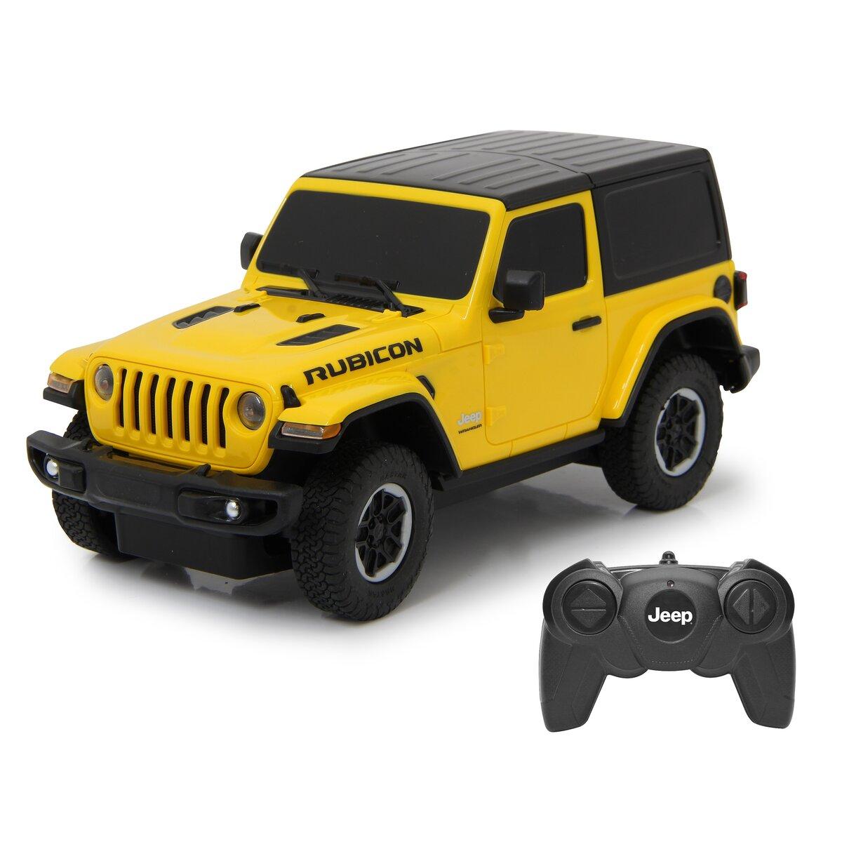 Jamara Jeep Wrangler JL 1:24 žlutý 27MHz