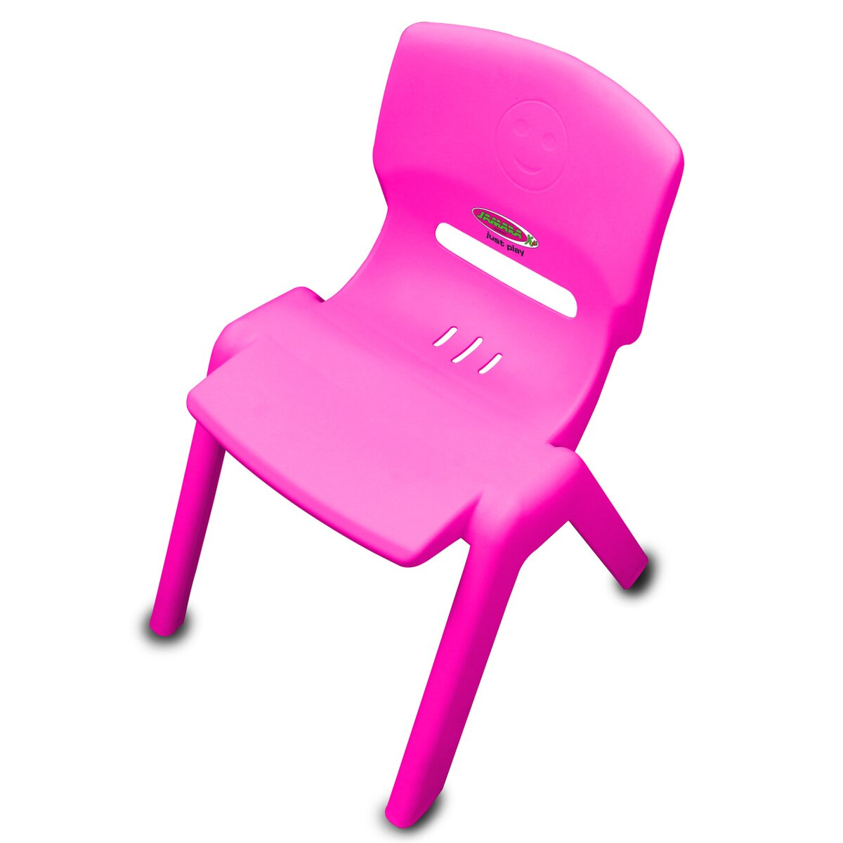 Jamara Dětská židle Smiley do 100 KG růžová