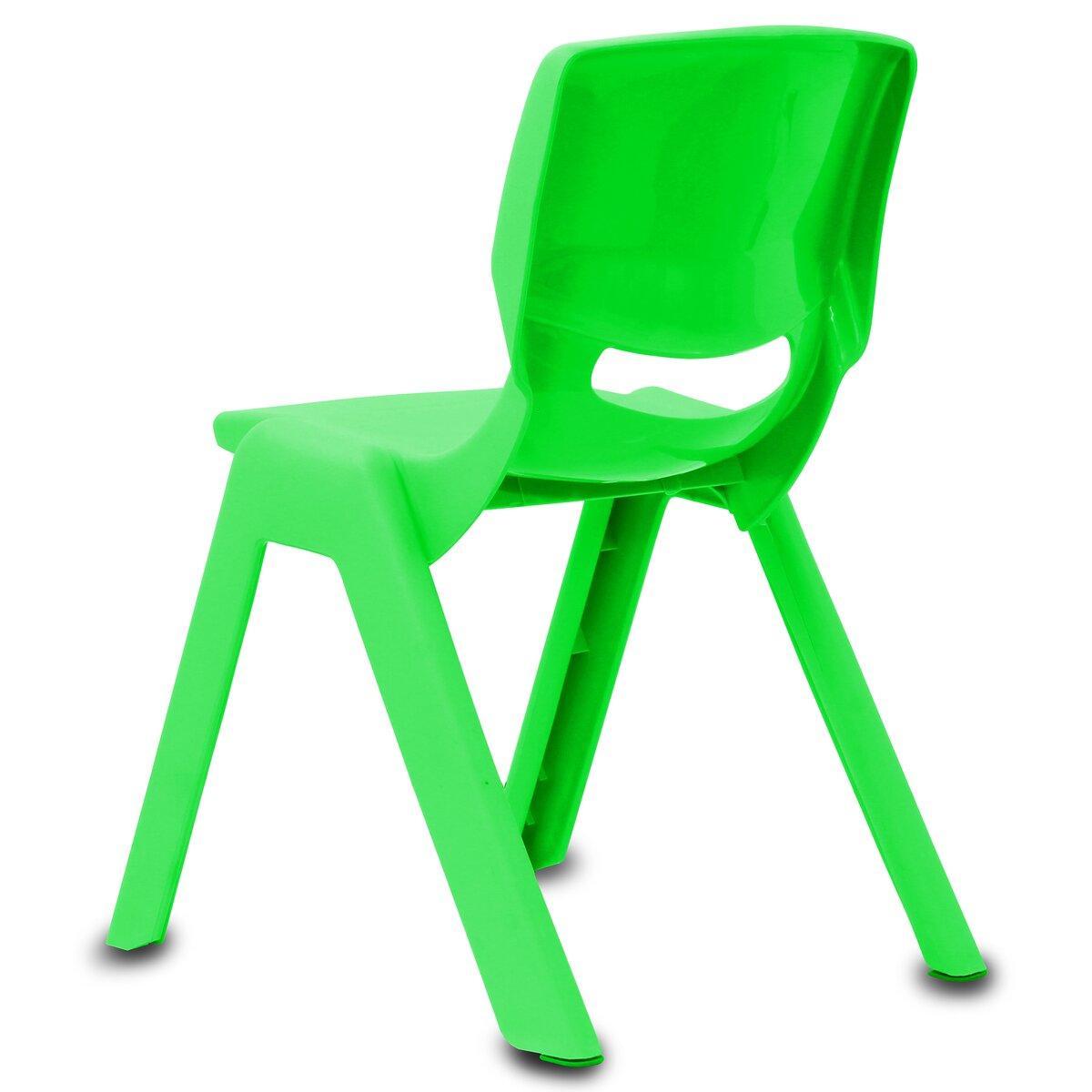 Jamara Dětská židle Smiley do 100 KG zelená