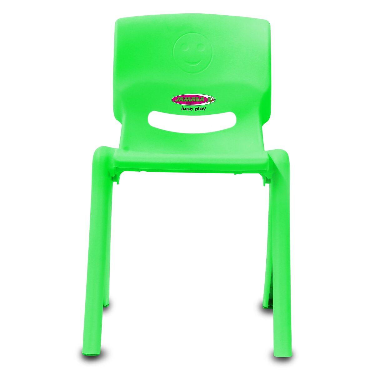 Kinderstuhl Smiley bis 100 KG grün