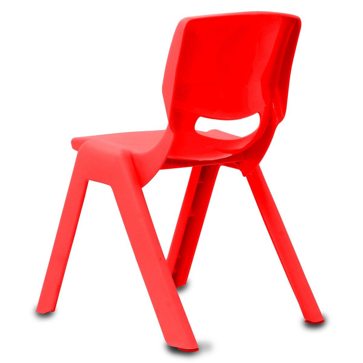 Jamara Dětská židle Smiley do 100 KG červená