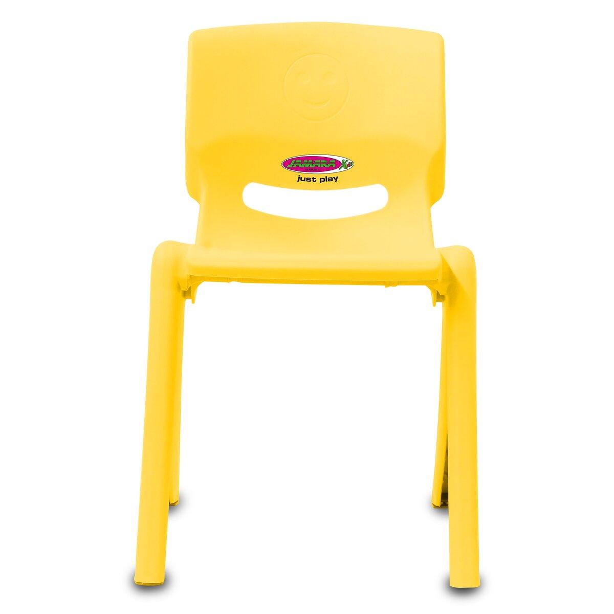 Jamara Dětská židle Smiley do 100 KG žlutá