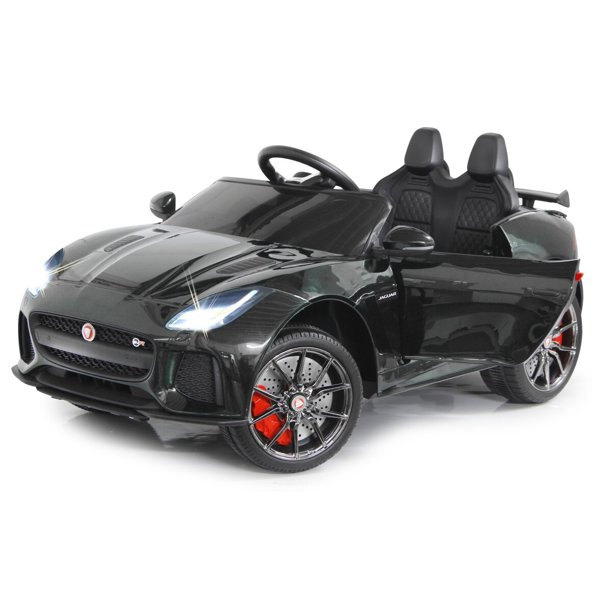 Ride-on Jaguar F-Type SVR schwarz 12V