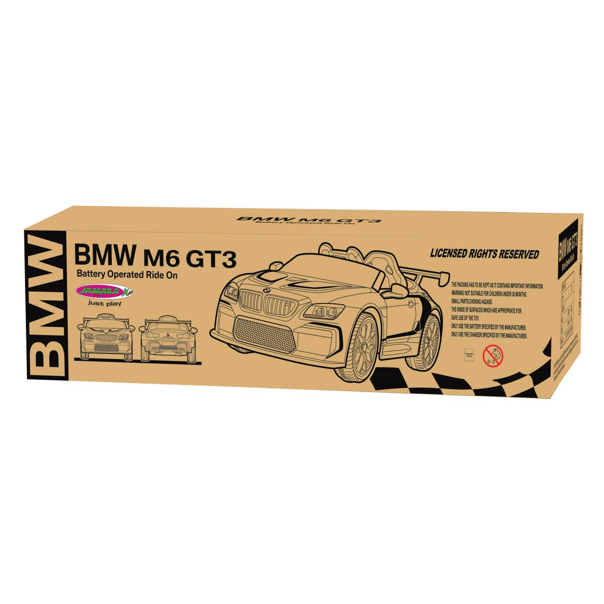 Jamara Ride-on BMW M6 GT3 černý