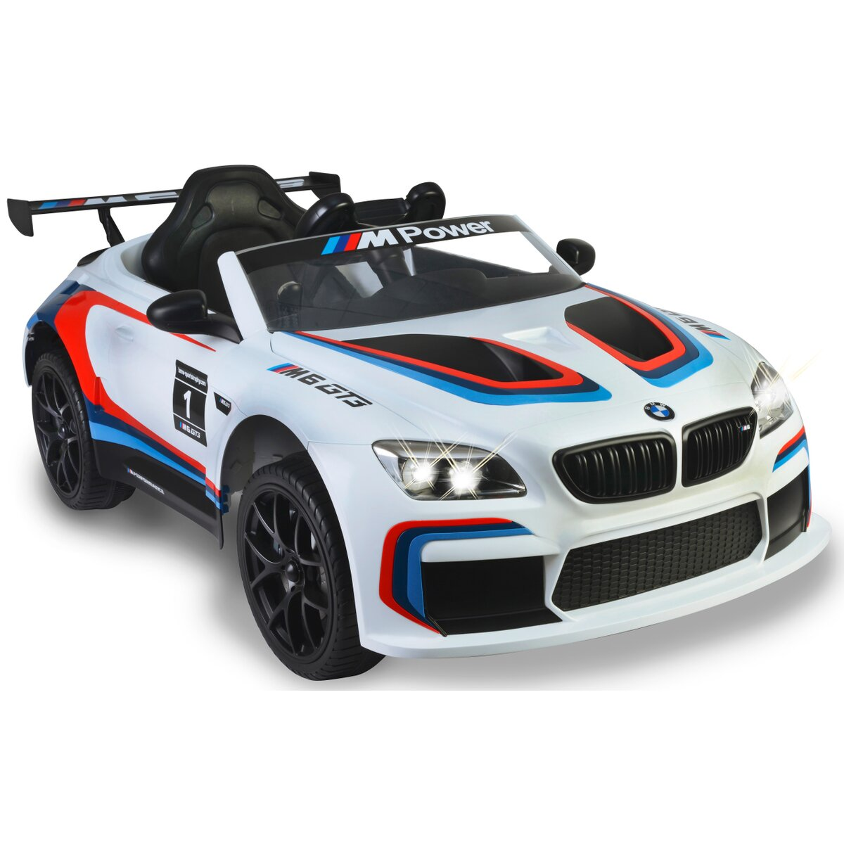 Jamara Ride-on BMW M6 GT3 bílý
