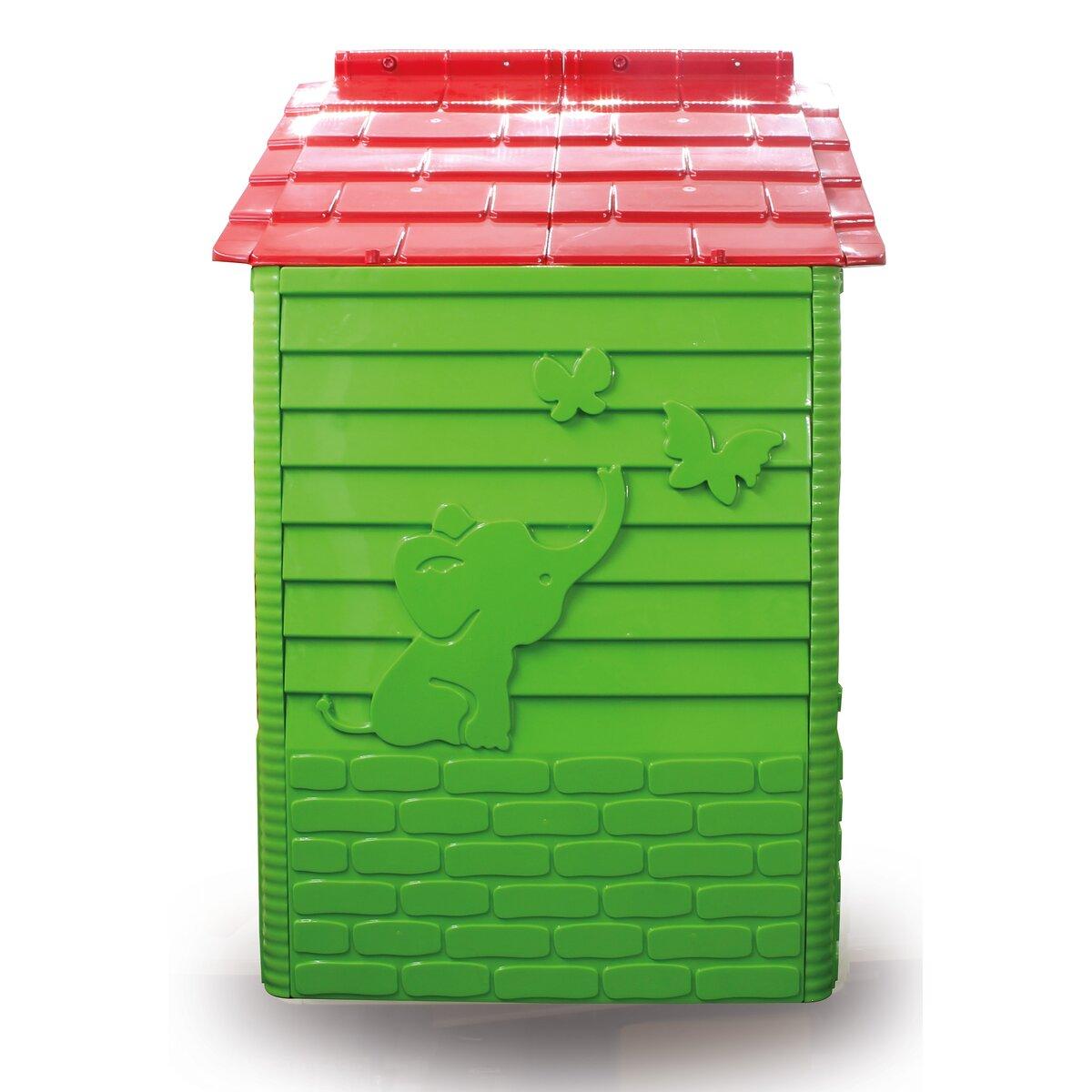 Spielhaus Little Home grün