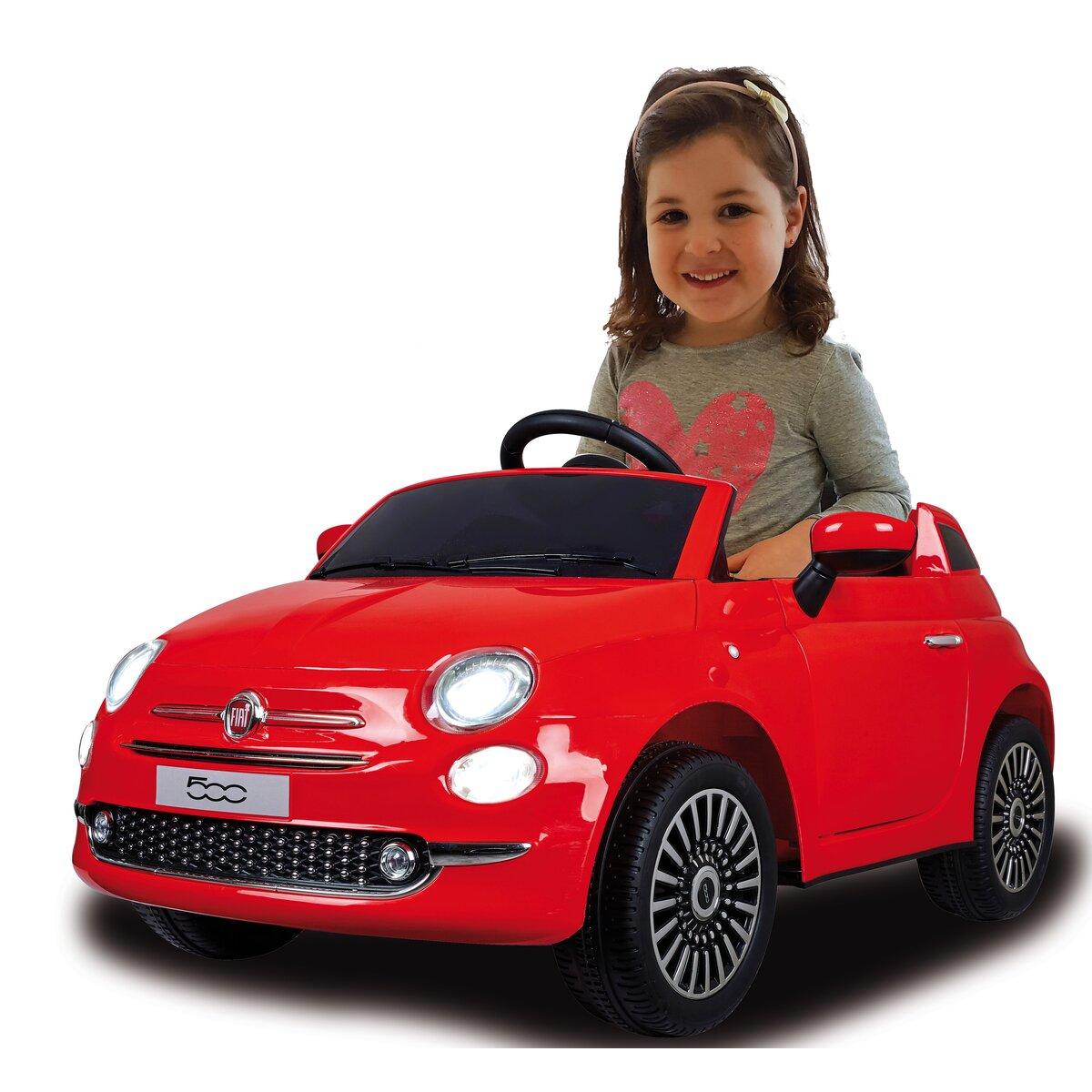Ride-on Fiat 500 rot 12V