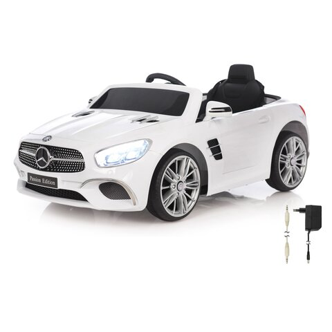 Ride-on Mercedes-Benz SL 400 weiß 12V