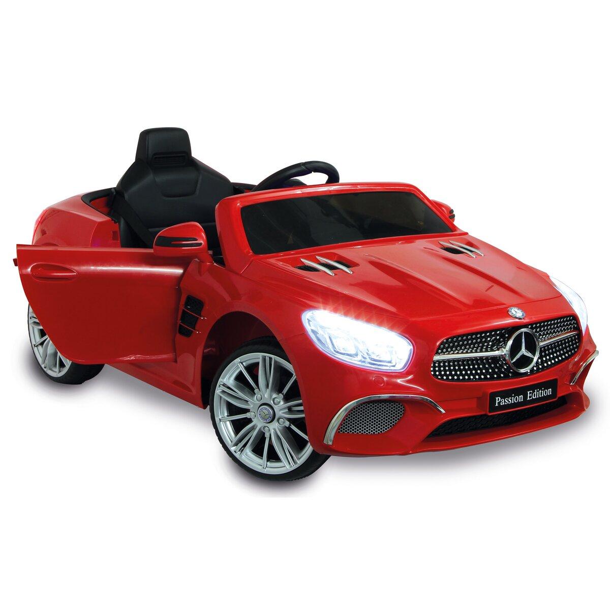 Jamara Ride-on Mercedes-Benz SL 400 červené 12V