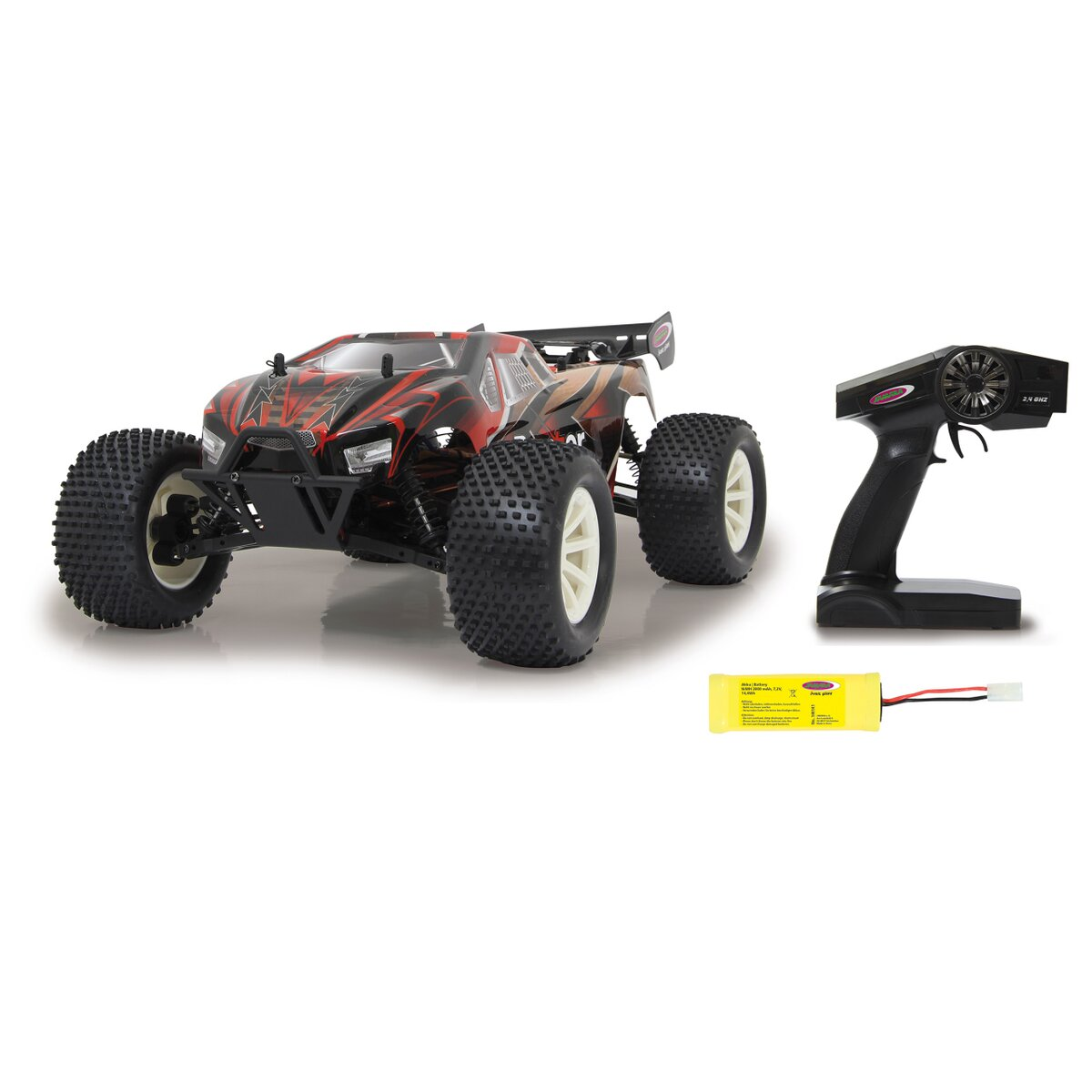 Brecter Truggy 4WD 1:10 NiMh 2,4GHz mit LED