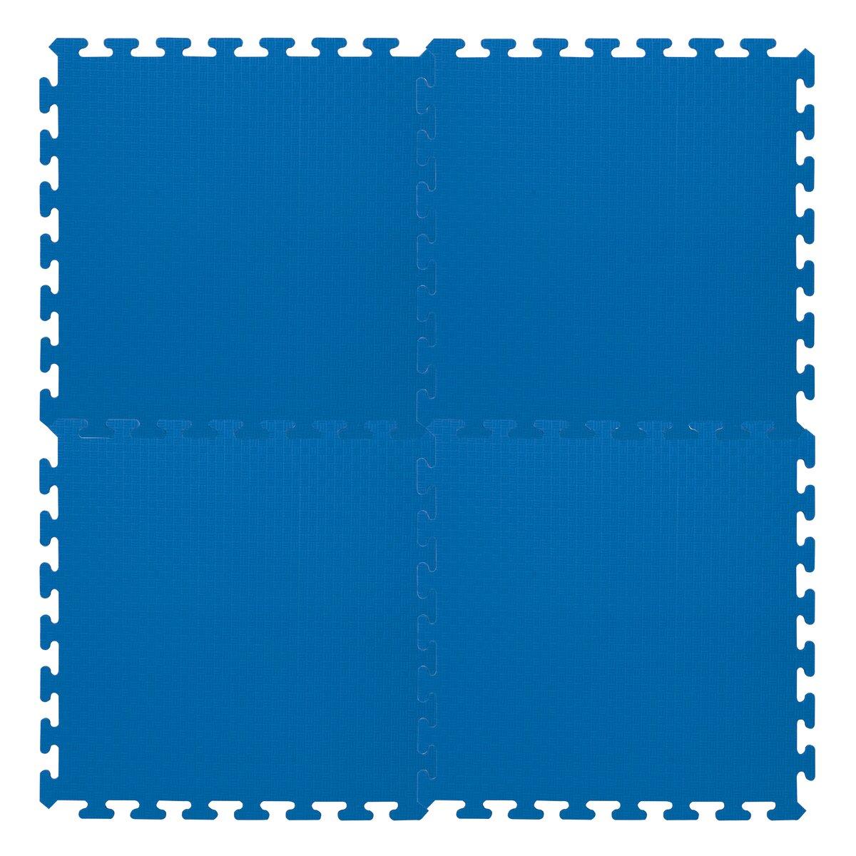 Puzzlematten blau 50 x 50 cm 4tlg.