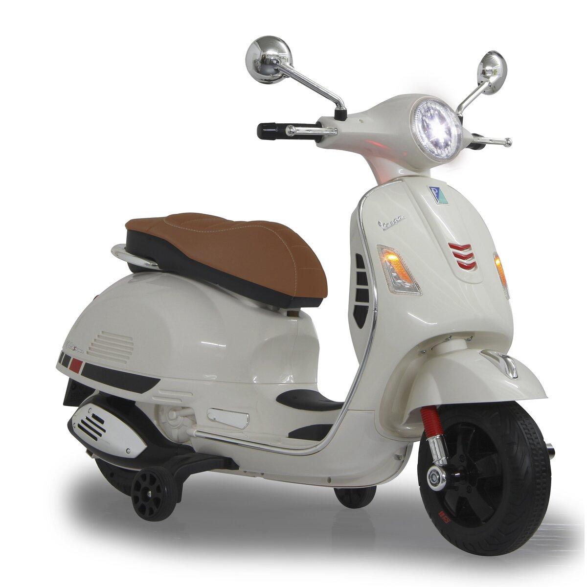 Jamara Ride-on Vespa bílá 12V