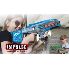 Impulse Laser Gun Rifle Set blau/grün